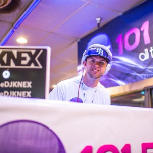 DJ KNEX always there to bring the party!